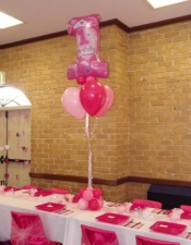 1st-birthday-princess-table-balloon-bouquet-with-cluster
