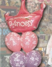 Princess birthday bouquets