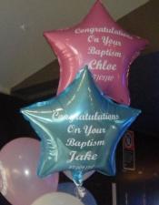 Custom printed foil balloons