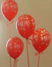 HoHoHo balloons