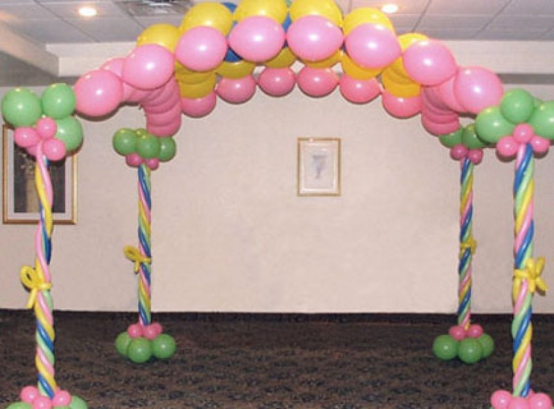 Diy balloon arch frame pictures to pin on pinterest pinsdaddy