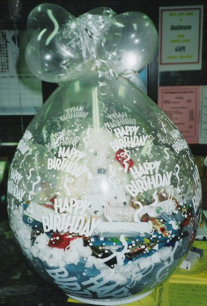 Gift Filled Balloons