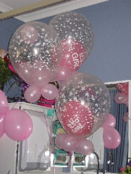Its A Girl Balloons Delivered