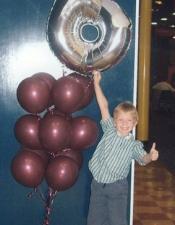 I'm 6! Megaloon bouquet