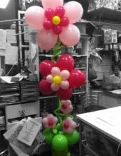 Flower garden column