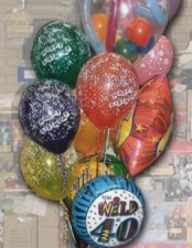 40 birthday bouquet