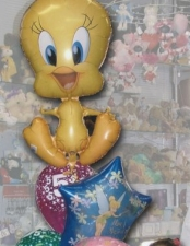 5th birthday tweety bouquet