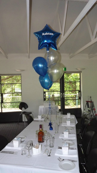 Table floor bouquets balloons delivered