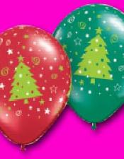 Christmas tress, stars & Swirls