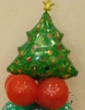 Christmas tree table piece