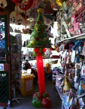 Christmas tree tower