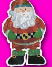 Santa foil