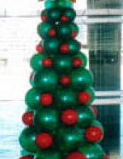 2m Christmas tree with gold star
