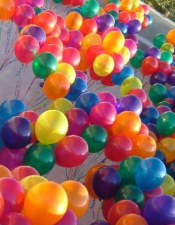 Pools full of balloons!