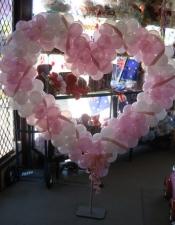 heart frame pink