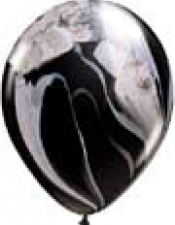 black white superagate
