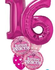 16 birthday princess