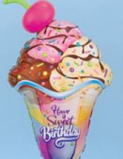 birthday sweets and swirls
